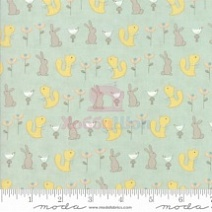 Ткань хлопок 100% Corner Of 5th Fun Moda Fabrics 17902-13