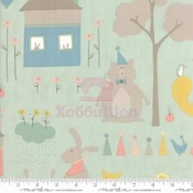Ткань хлопок 100% Corner Of 5th Fun Moda Fabrics 17901-13